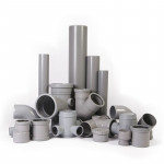 Трубы и фитинги канализационные