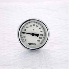 Термометр биметаллический F+R801SD 63мм с погружной гильзой WATTS Ind 120 град.C гильза 50мм
