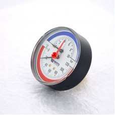 Термоманометр аксиальный F+R818 WATTS Ind 10 бар 120 град.C