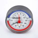 Термоманометры аксиальные или радиальные