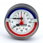 Термоманометры аксиальные WATTS