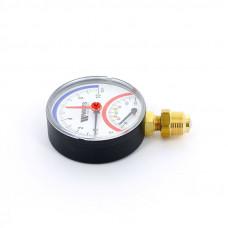 Термоманометр радиальный F+R828 WATTS Ind 10 бар 120 град.C
