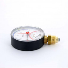 Термоманометр радиальный F+R828 WATTS Ind 40 м вод.ст 120 град.C