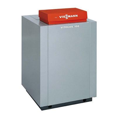 Котел газовый напольный Viessmann Vitogas 100-F одноконтурный с открытой камерой сгорания 42 кВттип KO2B, погодозависимое управление