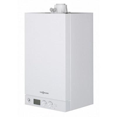 Котел газовый настенный Viessmann Vitopend 100-W двухконтурный с закрытой камерой сгорания 24 кВт