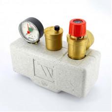"""Группа безопасности котла KSG 30 ISO стальная с теплоизоляцией WATTS Ind 1"""" 3 бар 200 кВт"""