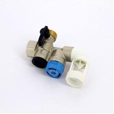 """Группа безопасности водонагревателя Flexbrane Flamco CE-H 3/4"""" горизонтальная"""