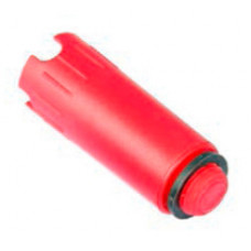 """Заглушка TECE для проверки системы под давлением из пластика, R 1/2"""" красный"""