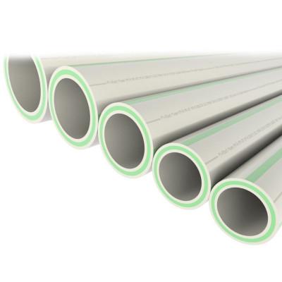 Труба полипропиленовая армированная PN20 Faser со стекловолоконным слоем FV-PLAST 63х10.5 мм штанга 4 м