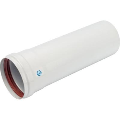 Stout SCA-0080-000250 элемент дымохода Ø80 труба 250 мм п/м (групповая упаковка 10 шт)