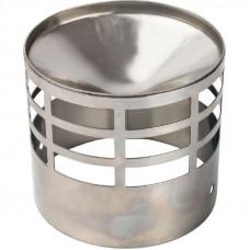 Stout SCA-0080-010004 элемент дымохода решетка из нержавеющей стали Ø80 для дымоотводящей трубы
