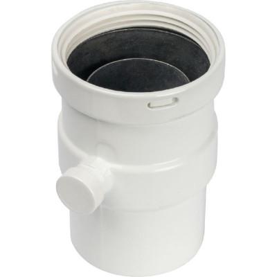 Stout SCA-0080-020137 элемент дымохода вертикальный Ø80 п/м с патрубком для отвода конденсата