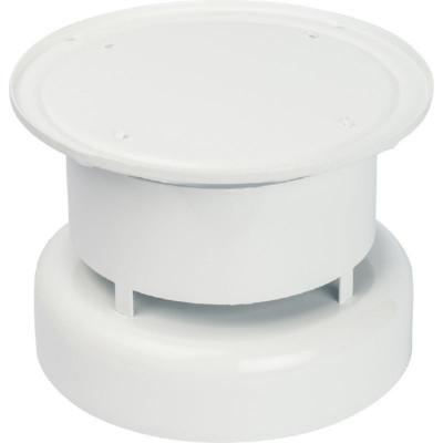 Stout SCA-6010-000103 элемент дымохода Ø60/100, оголовок дымохода вертикальный, защита от ветра и осадков