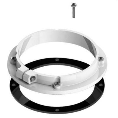 Stout SCA-6010-000107 элемент дымохода присоединительный фланец Ø100 для присоединения к котлу винтами
