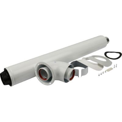 Stout SCA-6010-240850 Комплект коакс. для прохода через стену (совместимый с котлами Bosch, Buderus)