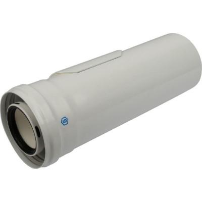 Stout SCA-8610-010310 элемент дымохода конденсац. Ø60/100 м/п PP-AL 310 мм с инспекционным окном