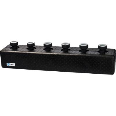 Stout SDG-0016-004003 Стальной распределительный коллектор 3 отопительных контура. В теплоизоляции DN 25