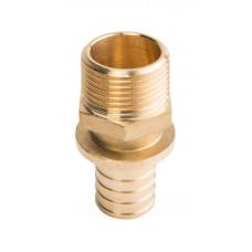 """Stout SFA-0001-002534 Переходник с наружной резьбой 25xR 3/4"""" для труб из сшитого полиэтилена аксиальный"""