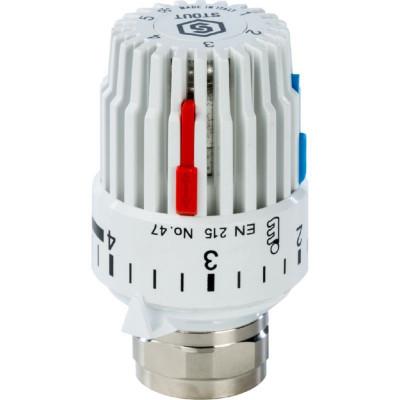 Stout SHT 0001 003015 Головка термостатическая, газо-жидкостная (от + 6°С до + 28°С) M30x1,5