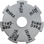 Информационный диск для распределительных коллекторов Stout
