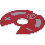 Синий-красный диск для распределительных коллекторов Stout