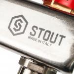 Коллектор из нержавеющей стали в сборе с расходомерами Stout