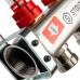 """Stout SMS 0917 000002 Коллектор из нержавеющей стали с расходомерами 1""""/3/4""""x2"""