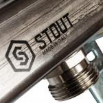 Коллектор из нержавеющей стали для радиаторной разводки Stout