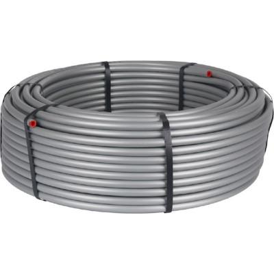 Stout SPS-0001-001626 16х2,6 (бухта 100 метров) Трубы стабильные PE-Xc/Al/PE-XC из сшитого полиэтилена с алюминиевым слоем для систем холодного, горячего водоснабжения и отопления, универсальная, серая