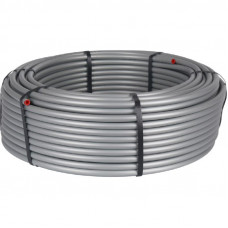 Stout SPS-0001-002029 20х2,9 (бухта 100 метров) Трубы стабильные PE-Xc/Al/PE-XC из сшитого полиэтилена с алюминиевым слоем для систем холодного, горячего водоснабжения и отопления, универсальная, серая