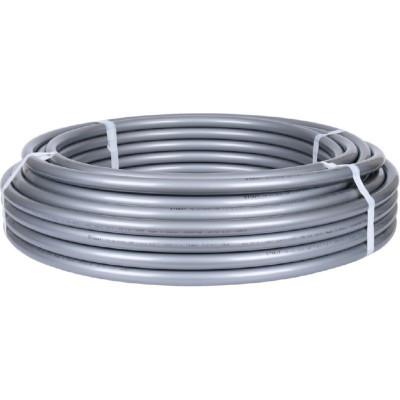 Stout SPX-0001-002535 25х3,5 (бухта 50 метров) Трубы PE-Xa/EVOH из сшитого полиэтилена с антидиффузионным слоем для систем холодного, горячего водоснабжения и отопления, универсальная, серая