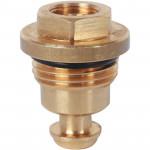 Запорно-балансировочный клапан для коллекторов из нержавеющей стали Stout