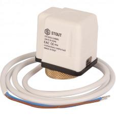 Stout STE-0010-230001 Электротермический компактный сервопривод, нормально закрытый, 230 B