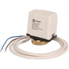 Stout STE-0010-230002 Электротермический компактный сервопривод, нормально открытый, 230 В
