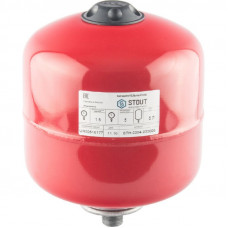 Stout STH-0004-000005 Мембранные расширительные баки для систем отопления с диафрагмой 5 л. (цвет красный)