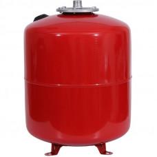 Stout STH-0006-000050 Мембранный расширительный бак с опорными стойками для отопление 50 л. (цвет красный)