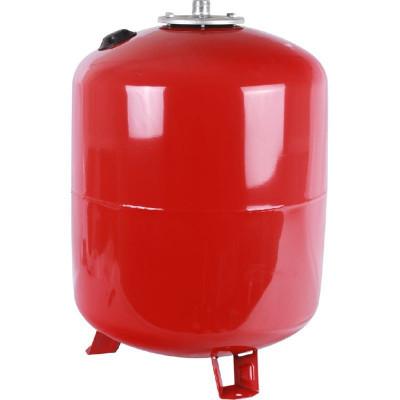 Stout STH-0006-000080 Мембранный расширительный бак с опорными стойками для отопление 80 л. (цвет красный)