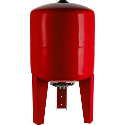 Stout STH-0006-000500 Мембранный расширительный бак с опорными стойками для отопление 500 л. (цвет красный)