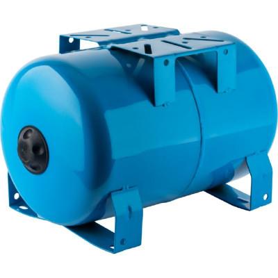 Stout STW-0001-100020 Мембранный расширительный бак (гидроаккумулятор горизонтальный) для систем водоснабжения 20 л. (цвет синий)
