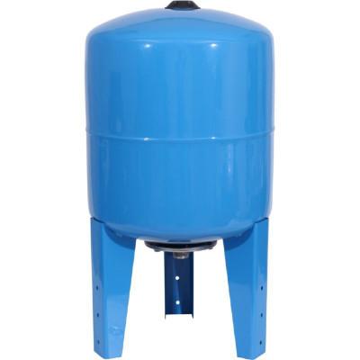 Stout STW-0002-000050 Мембранный расширительный бак (гидроаккумулятор вертикальный) для систем водоснабжения 50 л. (цвет синий)