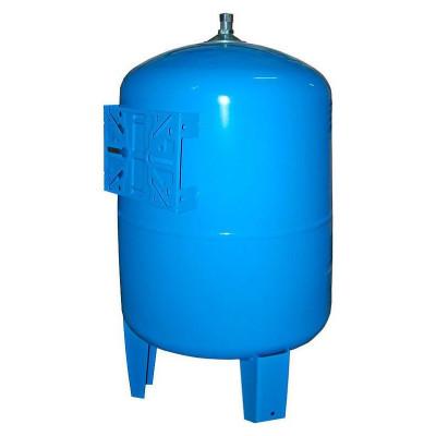 Stout STW-0002-000200 Мембранный расширительный бак (гидроаккумулятор вертикальный) для систем водоснабжения 200 л. (цвет синий)