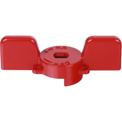 """Stout SVB-BUT-1114-02 Ручка бабочка для полнопроходных шаровых кранов, красная 1"""""""