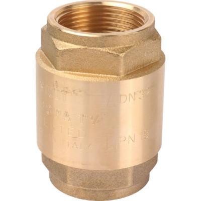 """Stout SVC-0011-000032 Клапан обратный пружинный с металлическим седлом 1 1/4"""""""