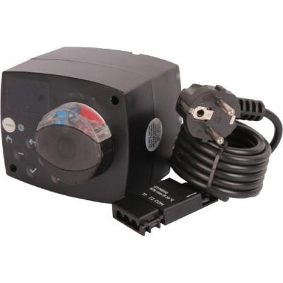 Stout SVM-0015-230017 Сервопривод для смесительных клапанов с датчиком для фиксированной регулировки температуры, AC 230V 135s
