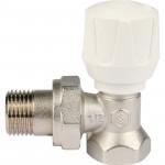 Клапан ручной терморегулирующий угловой Stout