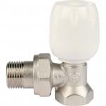 Клапан терморегулирующий с неподъемным шпинделем угловой Stout