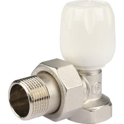 """Stout SVRS 1152 000020 Клапан ручной с неподъемным шпинделем, угловой 3/4"""""""